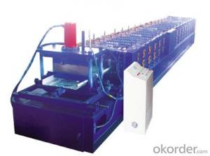 The wind dust-controlling plate roll forming machine