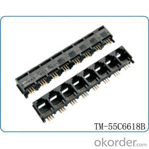 10G Modular Jack Connector -> 10GModular Jack Connector RJ45