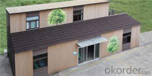 Steel Prefabricated House Metal Frame Shaped Model for Family Approved