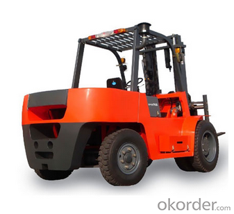 7T Stone loading special forklift -CPCD70S