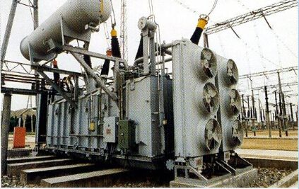 240MVA/345kV three-phase OLTC auto-transformer