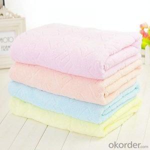 Microfiber towel for household cleaning in snow white