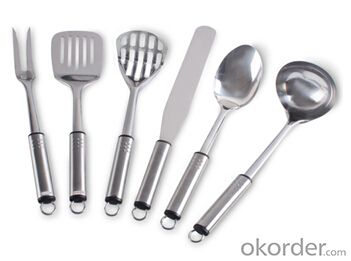 Art no. HT-KW1008 Stainless Steel Kitchenware Set
