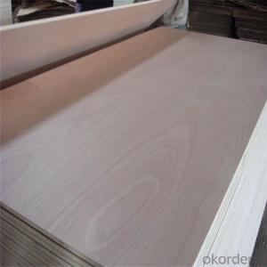 RED HARDWOOD FACE AND BACK,POPLAR CORE PLYWOOD