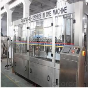 Fruit Juice and Tea Beverage Filling Machine