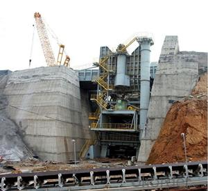 Self-Crusher Station used for super heavy-duty open-pit metal mines