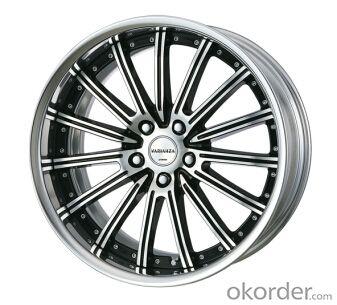 17 inches auto sport aluminum alloy car wheel rims  Min. Order: 1 Piece