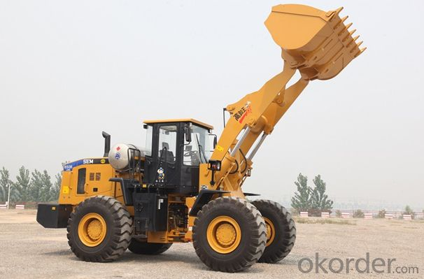 SEM Brand Heavy Work Conditions Wheel Loader SEM650B-LNG