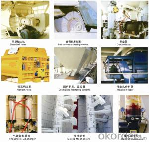 HLS60 Environmentally Friendly Ready Mix Concrete Batch Plant