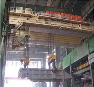 Lifting Equipment  Crane for Steel Plant   Magnet Crane