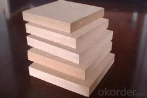 Plastic Coated Melamine mdf Board Waterproof