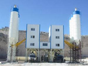 HLS180 Environmentally Friendly Ready Mix Concrete Batch Plant