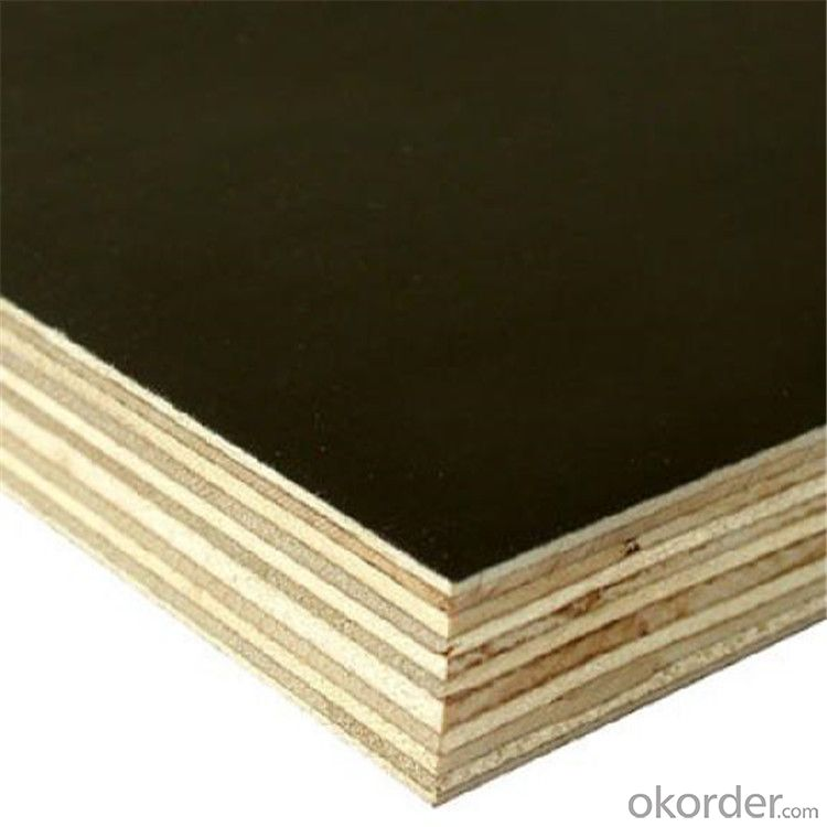 21mmx1250x2500mm size film faced plywood