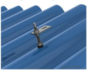 EMetal Sheet Roof Solar Mounting System VRSH