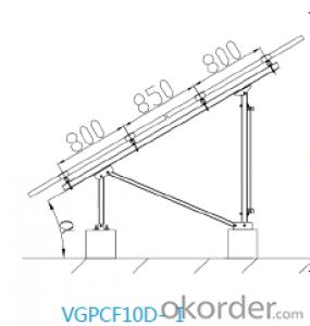 The Most Proven Ground Mount Fixed Tilt System VGPCF10-DE