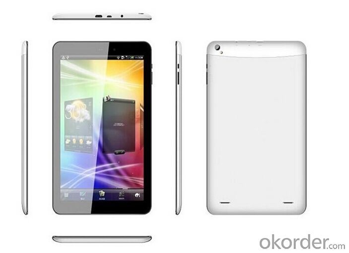Tablet PC with Mtk8382 Quad Core, 3G Phone 1g 8g IPS