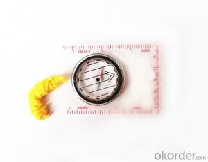 Professional Mini-Compass with Rulers for Mapping