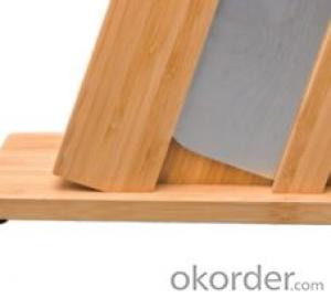 knife seat,F-KB002 bamboo six pcs knife seat