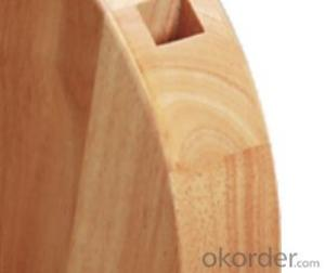 knife seat,F-KB038 Rubber wood knife seat,your best choice