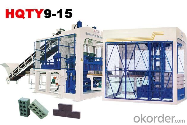 Fully-Automatic Block Making Machine Line HQTY9-15