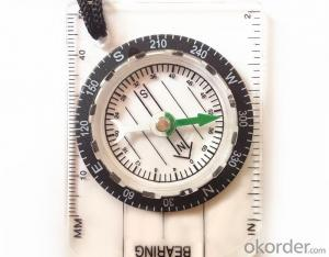 Mapping Mini Compass with Different Scales Ruler