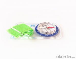 Rugged Mapping Compass with Different Scale Ruler