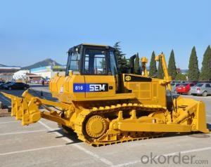 Track Type Bulldozer  Used for Earth Moving SEM816LGP