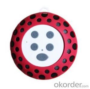 Outdoor Waterproof Rain-Resistant Wireless Bluetooth Speaker with a Latch Hook