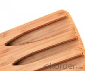 knife seat,F-KB081 Carbonized bamboo knife seat,your best choice