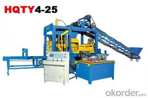 Fully-Automatic Block Making Machine Line HQTY4-25
