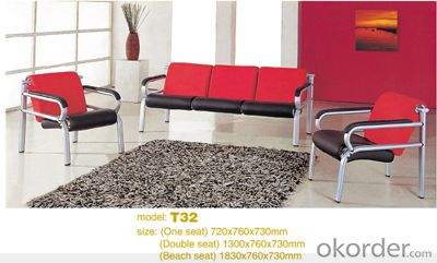 Office Sofa Office Furniture 2015 High Quality Leather Office Sofa T32