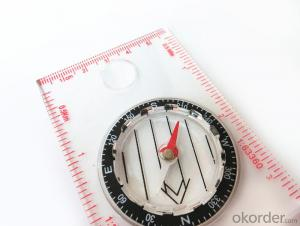Mapping Mini Compass with Professional Ruler