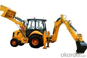 Backhoe Loader 862H for road building site