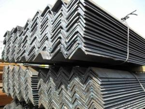 Unequal Angle Steel Prime SS400 Hot Dipped Galvanized