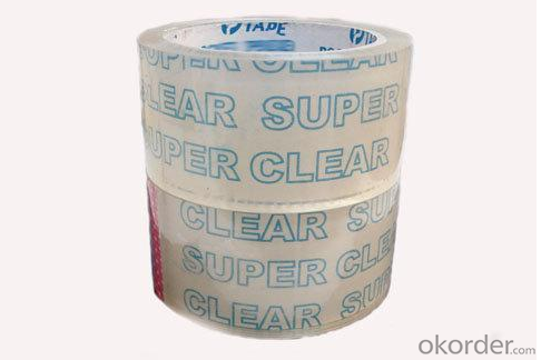 Super Clear Single Side Adhesive OPP Tape