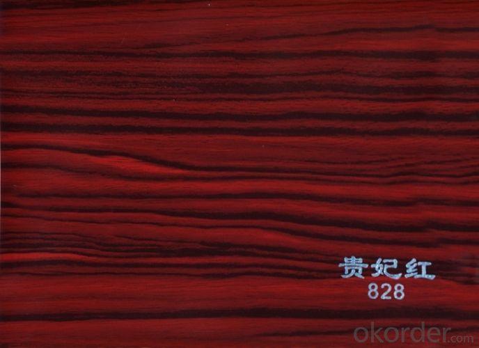 PVC Wood Grain Matt Film for Funiture Using