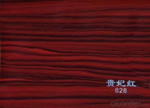 PVC Wood Grain Matt Film for Funiture Using