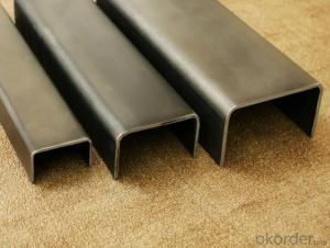 Steel U Channel Steel Bar Hot Dip Galvanized