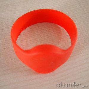 custom RFID silicone wristband silicone rfid wristband
