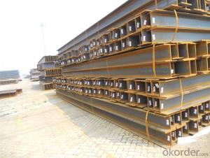Hot rolled steel H beams for sale