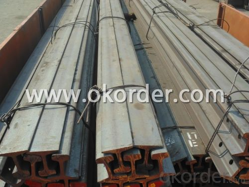Steel rail high quality for sale