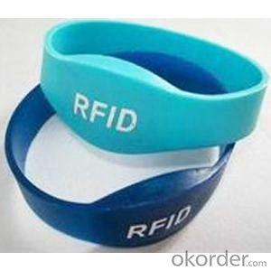 ISO 14443 ISO 15693 ISO silicone rfid wristband tag
