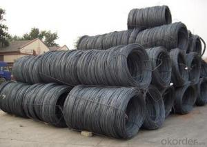 Steel Wire Rod Coils Steel Hot Rolled Wire Rod Q195
