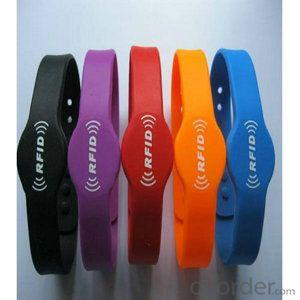 Adjustable Custom Waterproof uhf silicone rfid wristband