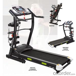 2015 NEWEST DELUXE COMMERCIAL MOTORIZED TREADMILL with touch screenF45