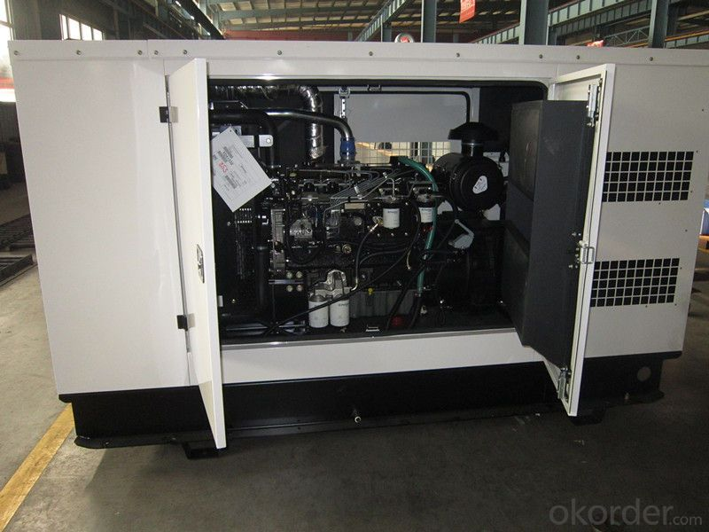 Perkins Silent Genset Diesel Generator , 45kw To 880kw AC Generator