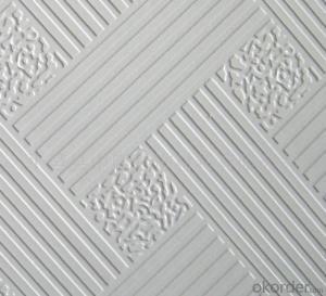 Gypsum Board Ceiling Tiles for Suspension Decoration