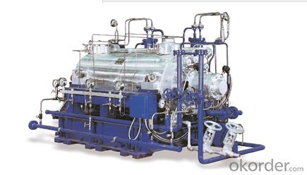 Horizontal, high-pressure barrel-type pump CHTR