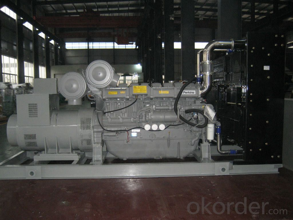 Perkins Genset Diesel Generator , 55kva - 950kva Electric Start Generator