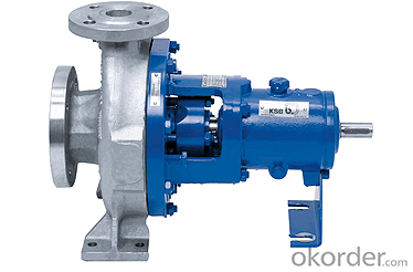Horizontal, radially split, single-stage volute casing pump  CPK-D